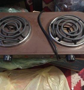 Печка, конфорка, электроплита