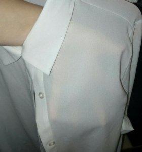 Блузка рубашка 42-44