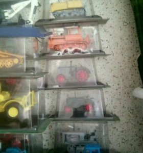 Коллекция тракторов