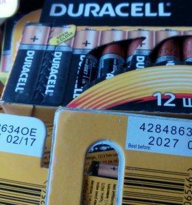Батарейки дураселл