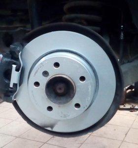 Бмв Е46 е36 тормозной диск задний