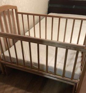 """Кроватка """"маятник"""" в идеальном состоянии"""