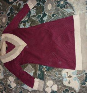 Бонприкс трикотажное платье