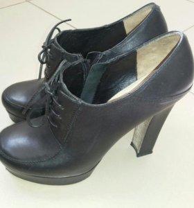 Туфли - ботинки натуральная кожа! Calipso