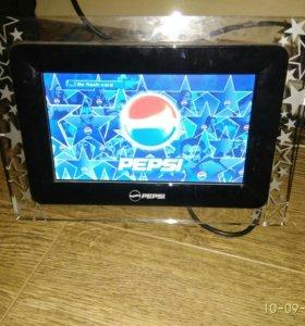 Цифровая фоторамка pepsi