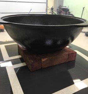 Казан чугунный на 12 литров