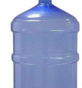 Бутыль 19 литров.