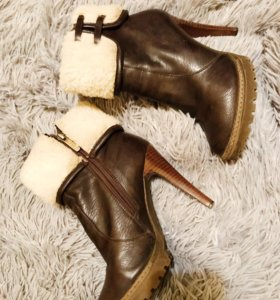 Зимние кожаные