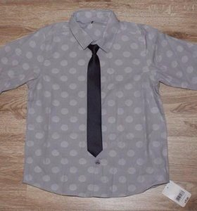 Новая рубашка ТМ Mothercare, р. 122