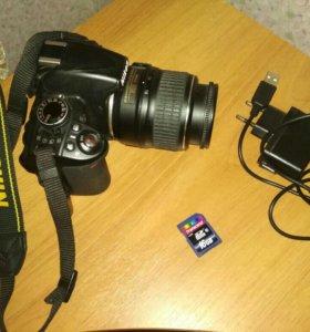 Nikon d3100+подарок