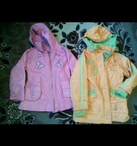 Продам две куртки осень-весна вместе за