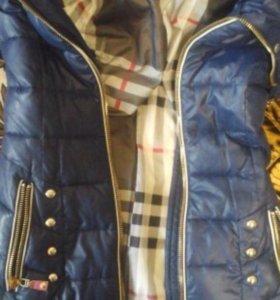 Зимняя куртка как новая