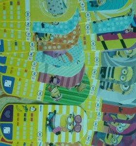 Миньоны карточки