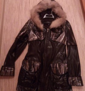Куртка (лаковая кожа)
