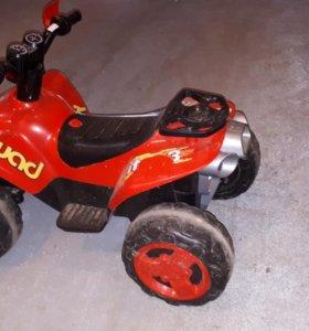 Детский электрический квадроцикл quad elite3