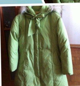 Куртка (пальто) на девочку.  + подарок 🎁