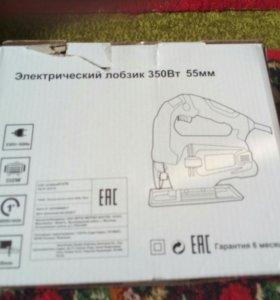 Электролобзик новый