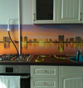 Новая панель в плёнке для кухонного гарнитура .