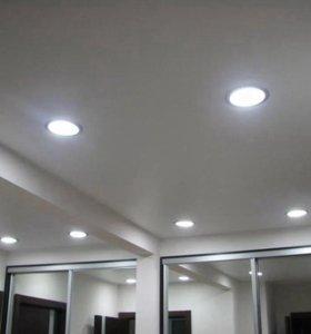 Светильники GX 53 для натяжных потолоков