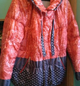 Женская куртка размер 54-56
