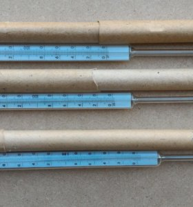Термометр ртутный 0-200