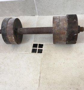 Гантеля 12 кг