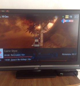 Телевизор JVC диагональ 98см.