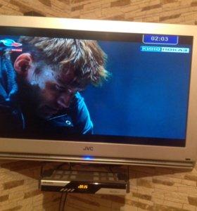 Телевизор JVC диагональ 80см.