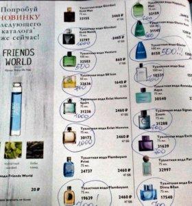 парфюмерная вода по самым низким ценам