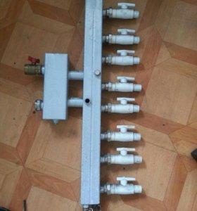 Коллектор для отопительной системы
