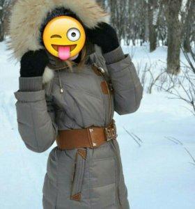 Куртка-пальто зимняя!