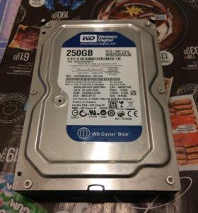Жесткий диск 250 Гб