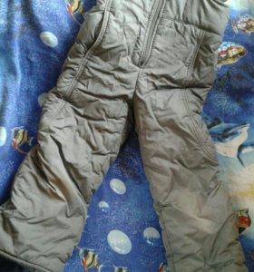 Зимние штаны для девочки 5 -7 лет