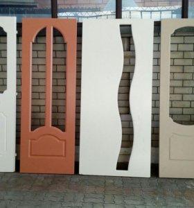 Двери межкомнатные,в ассортименте.