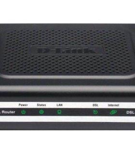 ADSL2+ Ethernet router D-link DSL-2500U