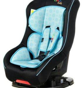 Автокресло Liko-Baby LB 302 Черный/Голубой