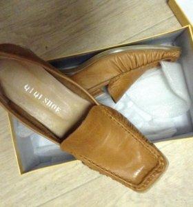 Туфли натуральная кожа, новые, 39