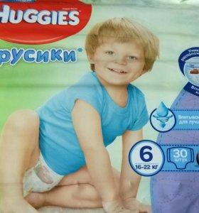 Трусики Huggies 6