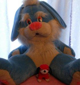 Игрушка Огромный заяц