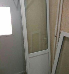 Окно пвх + дверь пвх