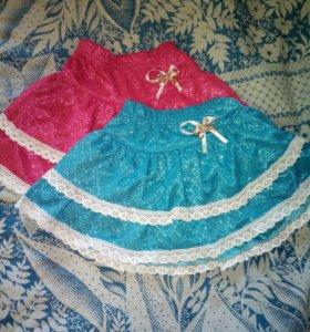 НОВАЯ детская юбка