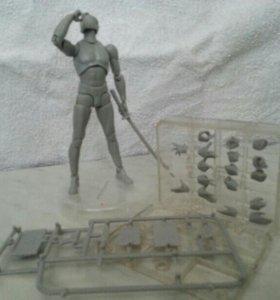 3D манекен для моделирования позы (М:125мм)