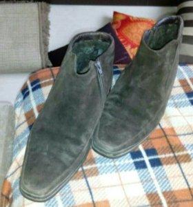 Ботинки зима р 42