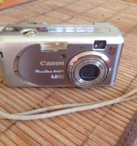 Фотоаппарат Canon PowerShotA430
