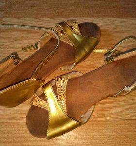 Туфли для спортивно бальных танцев, размер 30