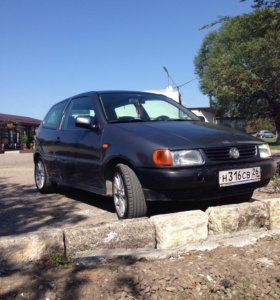 Volkswagen Polo 1.4 MT, 1996, купе