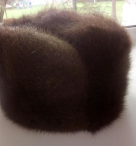Продам зимнюю мужскую шапку,размер регулируется