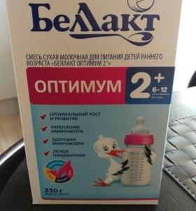 Детская молочная смесь Беллакт 2+