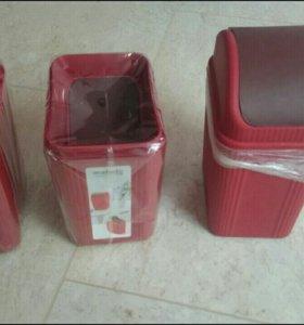 Контейнеры под косметический мусор