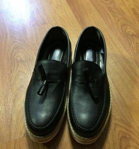Обувь-мокасины
